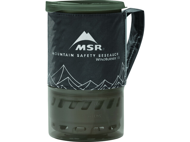 MSR WindBurner System 1l 3 lang black